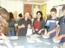 The cooking class in Macmillan Academy